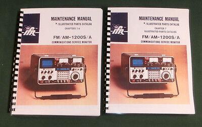 Ifr Fmam 1200sa Communications Monitor Service Manual W11x17 Schematics
