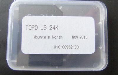 GARMIN TOPO U.S. 24K - Mountain North MAP Micro card ID, MT & WY   010-C0952-00