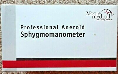 Moore Medical Professional Aneroid Sphygmomanometer Ref 66314