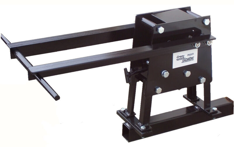 """Patented Crazycrusher Rock Crusher with optional 2"""" Hitch Mount"""