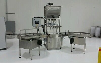 New Automatic Gravity Liquid Filler Bottle Filler Liquid Filler Inline Filler