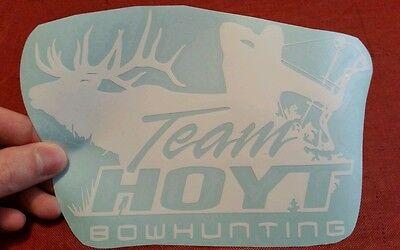 Hoyt Bow Hunting Decal Sticker Vinyl Elk Bow Arrow Outdoors Logo