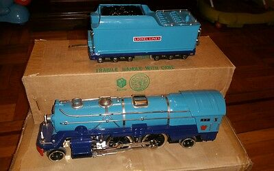 MTH / LIONEL Standard Gauge BLUE COMET 392E engine & tender IN BOX  made in USA