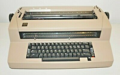 Vintage Ibm Correcting Selectric Iii Electric Typewriter - Tested Working