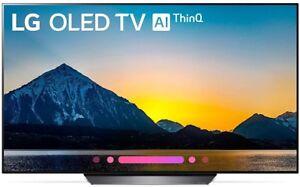 """LG OLED55B8PUA 55"""" Smart OLED 4K Ultra HD TV with HDR"""