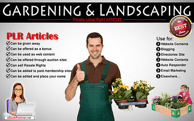 180 Plr Articles On Gardening And Landscaping Niche Private Label Rights