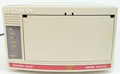 Beckman Coulter Hplc System Gold 168nm Detector Cat. 728768
