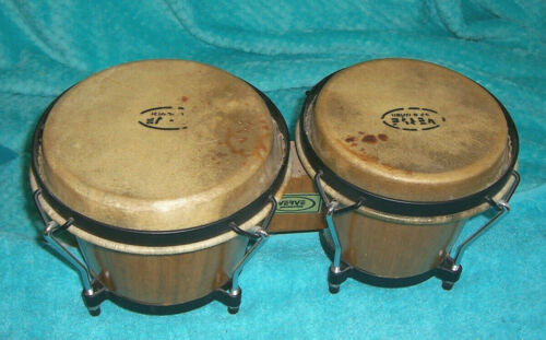 Verve Bongo drums used playable as is condition