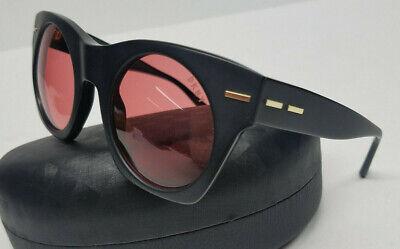 New DKNY Womens Sunglasses Matte Black Rose Lens DY4148 3711/84   (Dkny Sunglasses For Men)