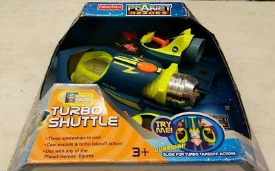 Fisher-Price Planet Heroes Turbo Shuttle - New in Box