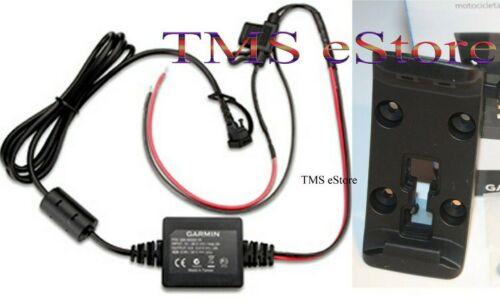 Garmin Motorcycle Mount Bracket +Power Cable Zumo 345 350LM 390LM 396LMT-S Kit