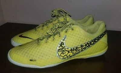6a1e6f605 NIKE NIKE5 ELASTICO FINALE II INDOOR SOCCER SHOES CLEATS BOOTS TRAINERS US  8 UK7