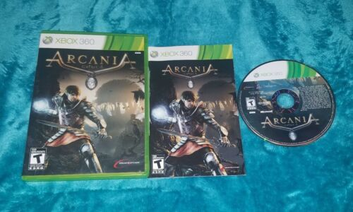 Arcania Gothic 4 Microsoft Xbox 360, 2010 Complete CIB Tested  - $10.50