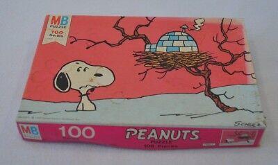 Peanuts Jigsaw puzzle Vintage 1958  MB 4382-1 Complete