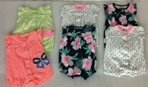 Baby Girls Twin Outfits One Piece Summer Carter