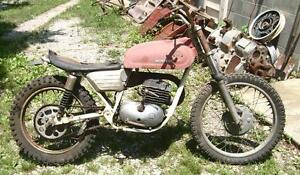 1971 MONTESA KING SCORPION 250 PROJECT WITH PARTS