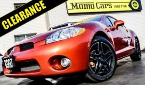 2007 Mitsubishi Eclipse V6 GT! MANUAL! Cruise+Alloy!