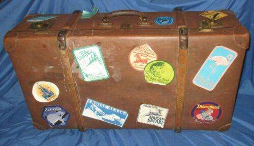 WALT DISNEY WORLD Original Cast Member Prop~Suitcase/Steamer Trunk DUMBO/ALASKA