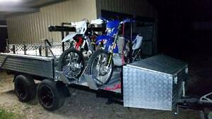 CUSTOM TANDEM WHEEL AUSSIE SWAG HARD FLOOD FOLD OUT CAMPER TRAILE Greenbank Logan Area Preview