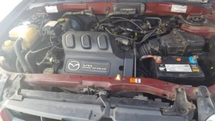 Mazda Tribute v6 3.0L engine,hear running