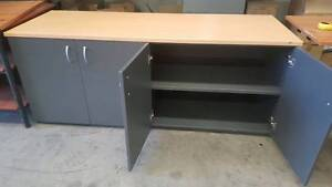 FOUR-DOOR CREDENZA - cabinet storage home study office display Murarrie Brisbane South East Preview