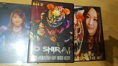 Stardom Io Shirai The Genius Of The Sky Box Set 2007-2018 250 Matches On 13 DVDs
