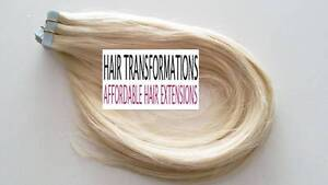 17inch  Tape Hair Extensions Full Head $199 Installed!!!! Holden Hill Tea Tree Gully Area Preview