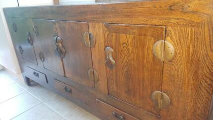 Antique Chinese Sideboard North Narrabeen Pittwater Area Preview