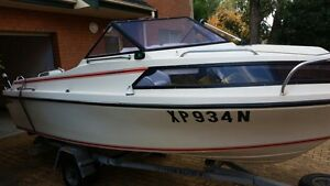 Half cabin 16ft boat 70hp Kingswood Penrith Area Preview