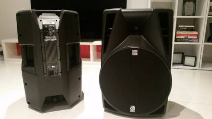 Powered DJ Speakers x2 **LOUD** 700w Opera DB Technologies 715 DX West Ryde Ryde Area Preview
