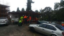 Food caravan with full setup at construction site.... Parramatta Parramatta Area Preview