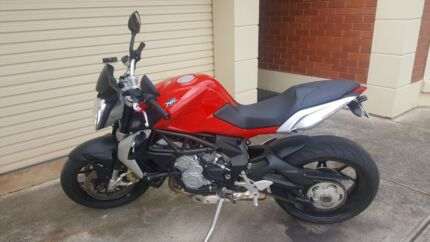 MV Augusta motor bike