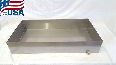 Maple Syrup Boiling Pan 18x34x6 Stainless Steel Sap evaporator tig 18 ga **USA**