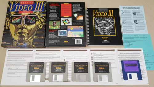 Deluxe Video III v1.06 1989 Electronic Arts for Amiga 500 1200 2000 3000 4000