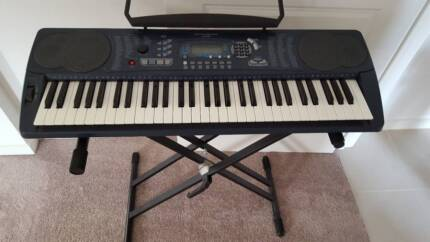 Hemingway HK300 touch responsive Keyboard and stand.