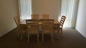 7-PIECE QUALITY EXTENSION DINING SETTING Eglinton Wanneroo Area Preview