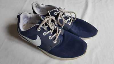 Herren Freizeit Sport Schuhe Sneaker Nike blau weiß Retro Vintage Gr. 39 for sale  Shipping to Nigeria