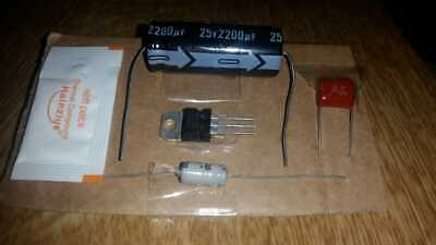 Atari 2600 Repair / Replacement / Tune Up Capacitor Kit (6-Switch light sixer)