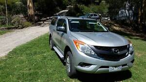 2012 Mazda BT50 Ute Launching Place Yarra Ranges Preview