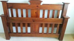 LongReach King Bed Frame Warner Pine Rivers Area Preview