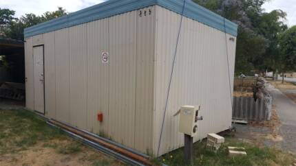 Cheap granny flat 6 x 3 meter portable room/office/donga