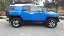 2012 Toyota FJ Cruiser Wagon Voodoo Blue Coburg Moreland Area Preview