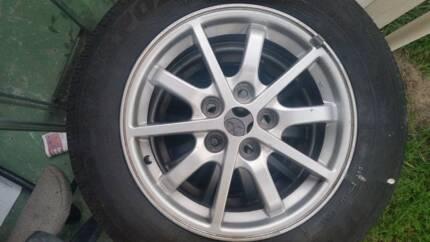 15 inch 5 Stud Rims Tyre Tire