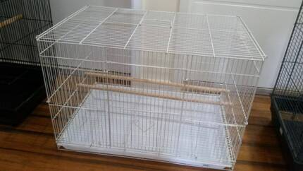 Two Birdcages, one is As new and the black is used condition!