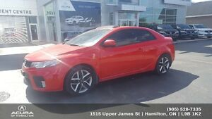 2012 Kia Forte 2.4L SX Luxury 2 DOOR, SX LUXURY