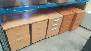STORAGE PEDESTALS - work office shelving study student Murarrie Brisbane South East Preview