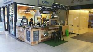 RUSTIC COFFEE CART | TURN KEY BUSINESS | Modular U Shaped design Wetherill Park Fairfield Area Preview