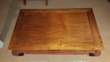 Large Wood Coffee Table North Narrabeen Pittwater Area Preview