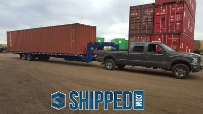 Last Few Left Used Wwt 40ft High Cube Shipping Container In Brandon Florida