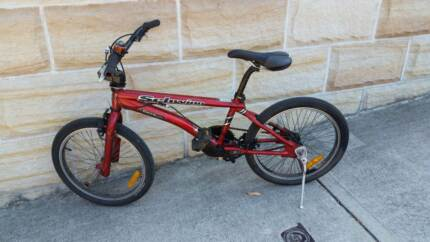 Schwinn Supermatic Bicycle with stunt bars Woollahra Eastern Suburbs Preview